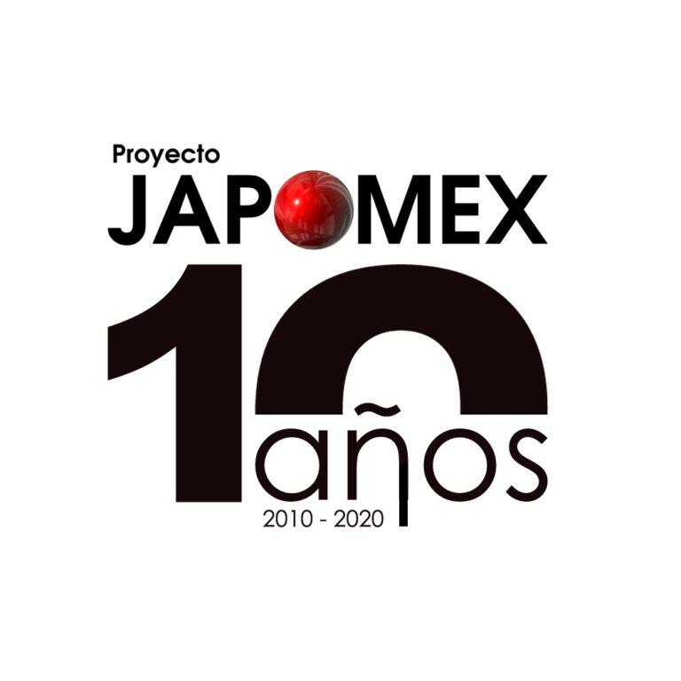 10 años logo negro